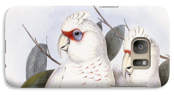 Long-billed Cockatoo Galaxy S7 Case by John Gould