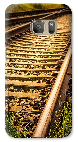 Galaxy Case featuring the photograph Long Gone by Odd Jeppesen