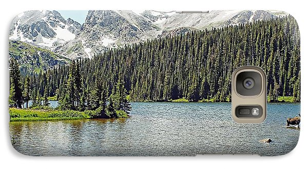 Galaxy Case featuring the photograph Long Lake Splender by Joseph Hendrix