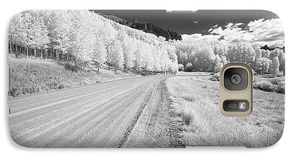 Galaxy Case featuring the photograph Long Road In Colorado by Jon Glaser