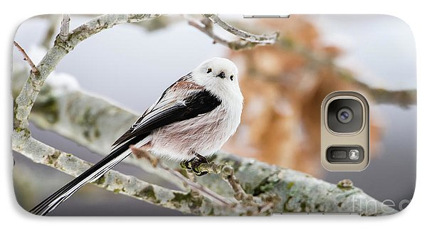 Galaxy Case featuring the photograph Long-tailed Tit by Torbjorn Swenelius
