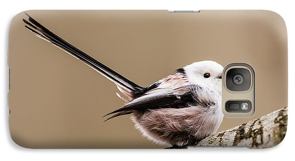 Galaxy Case featuring the photograph Long-tailed Tit Wag The Tail by Torbjorn Swenelius