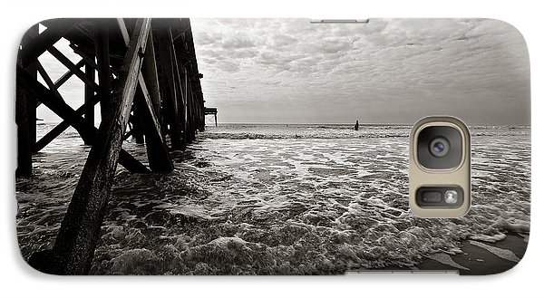Galaxy Case featuring the photograph Long To Surf by David Sutton