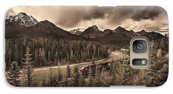 Galaxy Case featuring the photograph Long Train Running by John Poon
