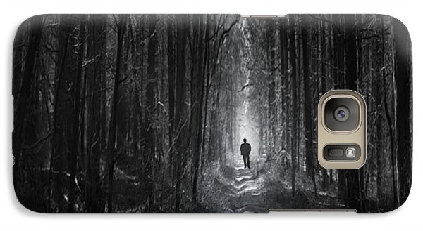 Galaxy Case featuring the photograph Long Way Home by Bernd Hau
