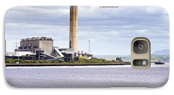 Galaxy Case featuring the photograph Longannet Power Station by Jeremy Lavender Photography