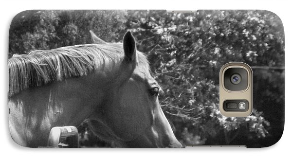 Galaxy Case featuring the photograph Longing by Sandi OReilly
