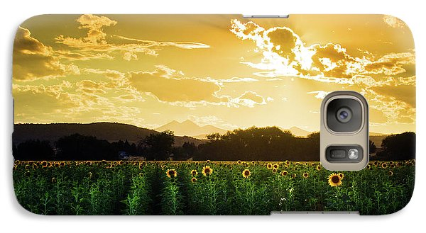 Galaxy Case featuring the photograph Longmont Summer Skies 2 by John De Bord