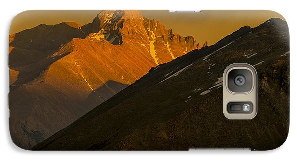Galaxy Case featuring the photograph Long's Peak by Gary Lengyel