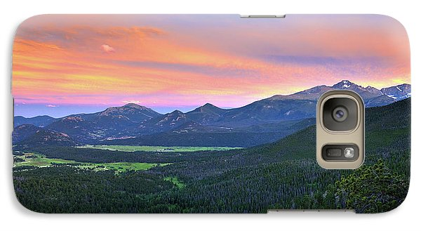Longs Peak Sunset Galaxy S7 Case