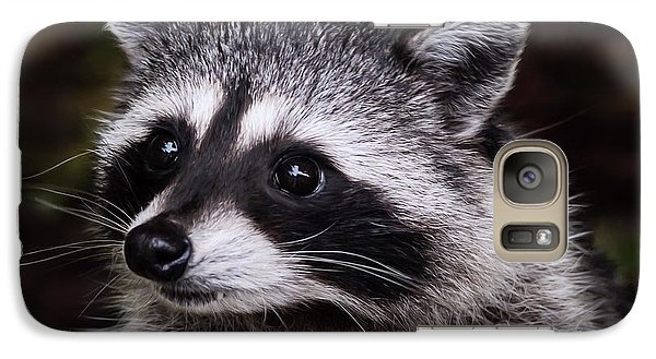 Galaxy Case featuring the photograph Look Who Came For Dinner by Jordan Blackstone