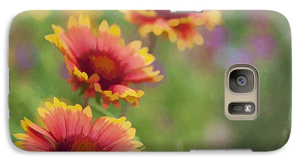 Galaxy Case featuring the photograph Look...a Flower by John Crothers