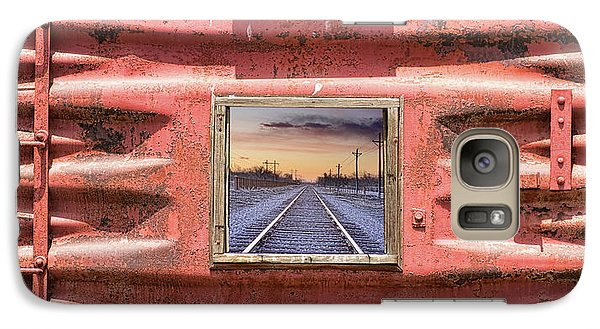 Galaxy Case featuring the photograph Looking Back by James BO Insogna