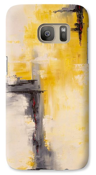 Galaxy Case featuring the painting Looking East #1 by Suzzanna Frank