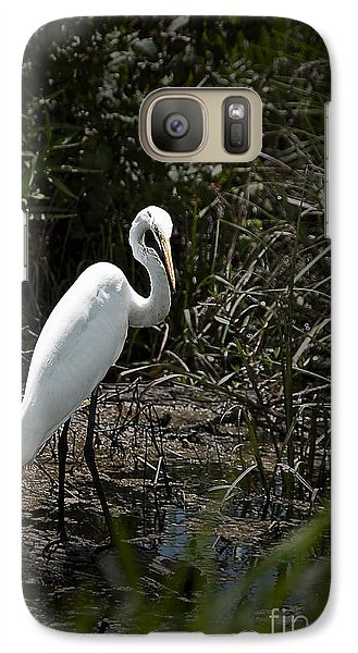 Galaxy Case featuring the photograph Looking For Lunch by Tamyra Ayles