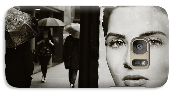 Galaxy Case featuring the photograph Looking For Your Eyes by Empty Wall
