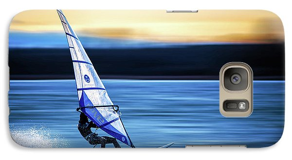 Galaxy Case featuring the photograph Looking Forward by Hannes Cmarits