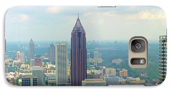 Galaxy Case featuring the photograph Looking Out Over Atlanta by Mike McGlothlen