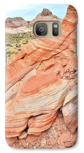 Galaxy Case featuring the photograph Looking South In Valley Of Fire by Ray Mathis