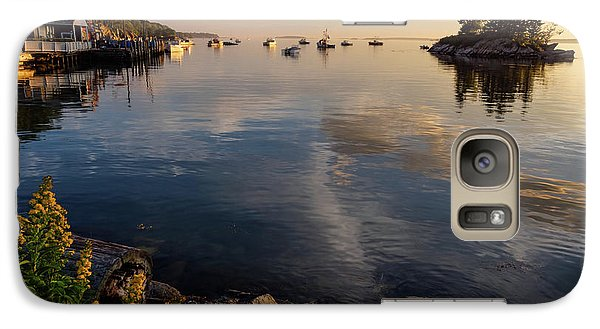 Galaxy Case featuring the photograph Lookout Point, Harpswell, Maine  -99044-990477 by John Bald
