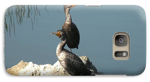 Galaxy Case featuring the photograph Lookout by Rosalie Scanlon
