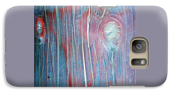Galaxy Case featuring the photograph Looks Like A Steer In The Headlights by Lenore Senior