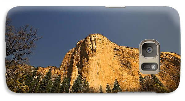 Galaxy Case featuring the photograph Looming El Capitan  by Kim Wilson