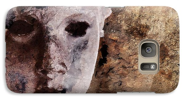 Galaxy Case featuring the digital art Loosing The Real You Behind The Mask by Gun Legler