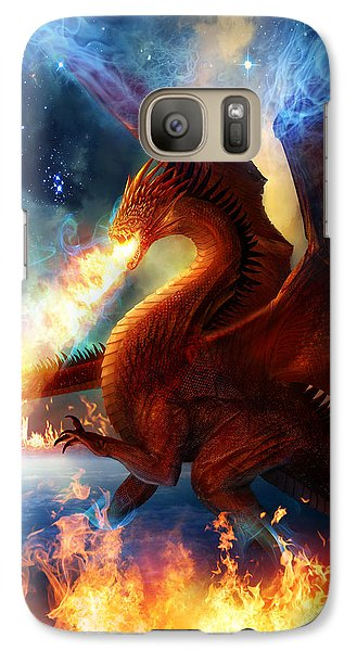 Lord Of The Celestial Dragons Galaxy S7 Case by Philip Straub