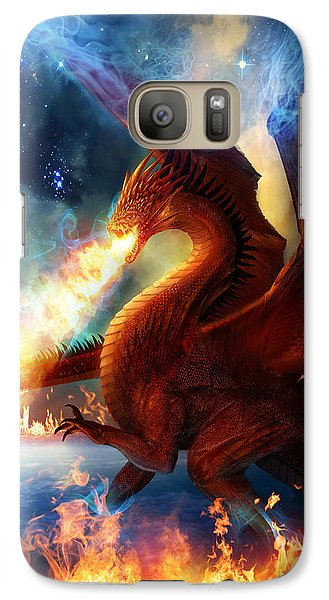 Dragon Galaxy S7 Case - Lord Of The Celestial Dragons by Philip Straub