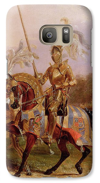 Lord Of The Tournament Galaxy S7 Case by Edward Henry Corbould