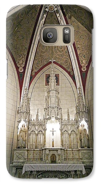 Galaxy Case featuring the photograph Loretto Chapel Santa Fe by Kurt Van Wagner