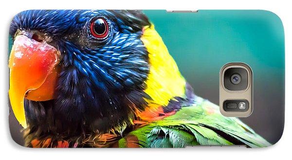 Lorikeet Glance Galaxy S7 Case