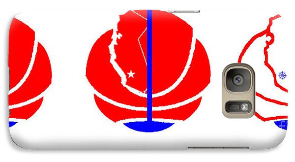 Galaxy Case featuring the digital art Los Angeles Clippers Logo Redesign Contest by Tamir Barkan