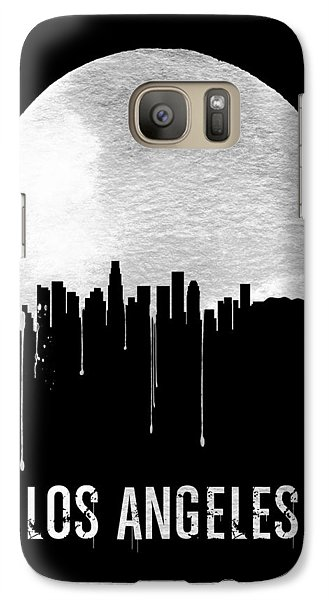 Los Angeles Skyline Black Galaxy S7 Case