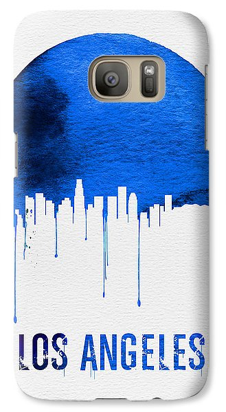 Los Angeles Skyline Blue Galaxy S7 Case