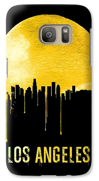 Los Angeles Skyline Yellow Galaxy S7 Case
