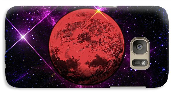 Galaxy Case featuring the photograph Lost In Space  by Naomi Burgess