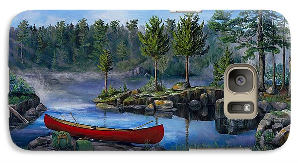 Lost In The Boundary Waters Galaxy S7 Case