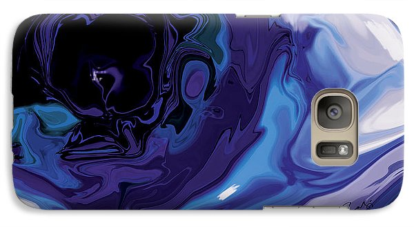 Galaxy Case featuring the digital art Lost-in-to-the-eye by Rabi Khan