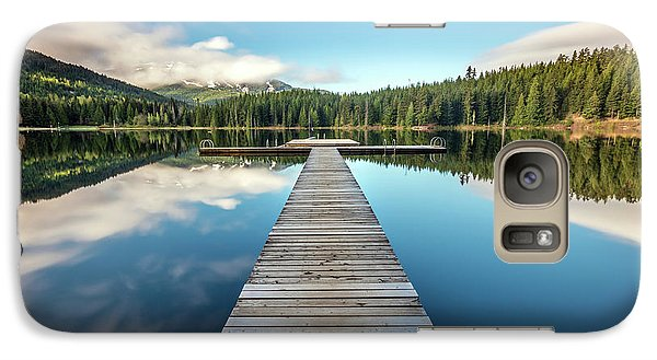 Galaxy Case featuring the photograph Lost Lake Dream Whistler by Pierre Leclerc Photography