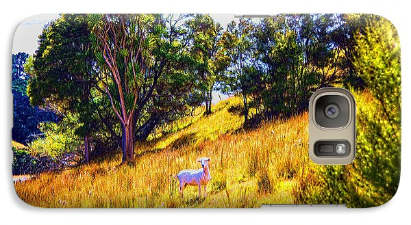 Galaxy Case featuring the photograph Lost Lamb by Rick Bragan