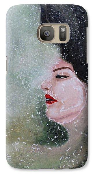 Galaxy Case featuring the painting Lost  by Saranya Haridasan