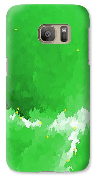 Galaxy Case featuring the digital art Lost To The Mists Of Time by Yshua The Painter