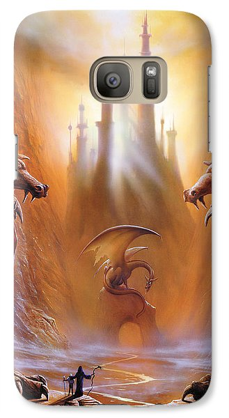 Fantasy Galaxy S7 Case - Lost Valley by The Dragon Chronicles - Garry Wa