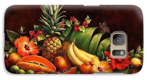 Mango Galaxy S7 Case - Lots Of Fruit by Laurie Hein