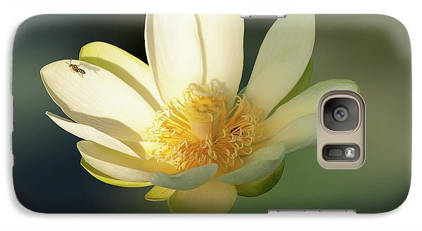 Galaxy Case featuring the photograph Lotus Beauty by Carolyn Dalessandro
