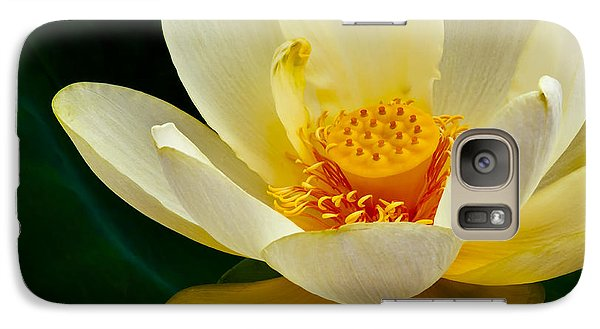 Galaxy Case featuring the photograph Lotus Blossom by Tyson and Kathy Smith