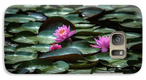 Galaxy Case featuring the photograph Lotus by Brenda Bostic
