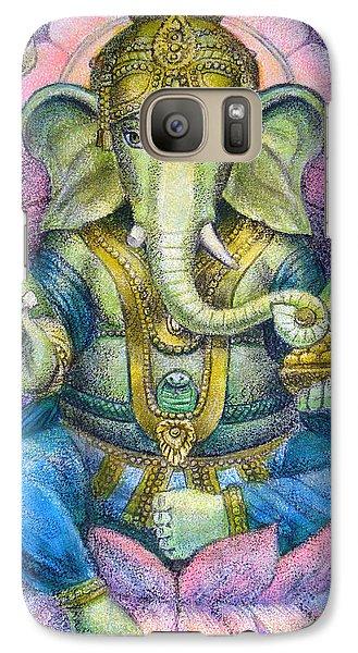 Elephant Galaxy S7 Case - Lotus Ganesha by Sue Halstenberg